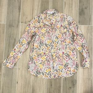 Old Navy Women's Classic Shirt in Floral